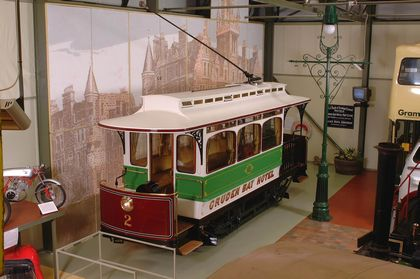Cruden Bay Tram Car